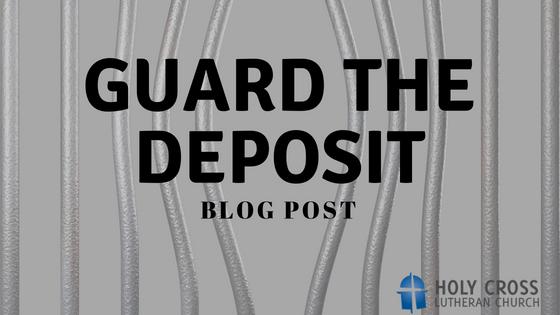 Guard the Deposit